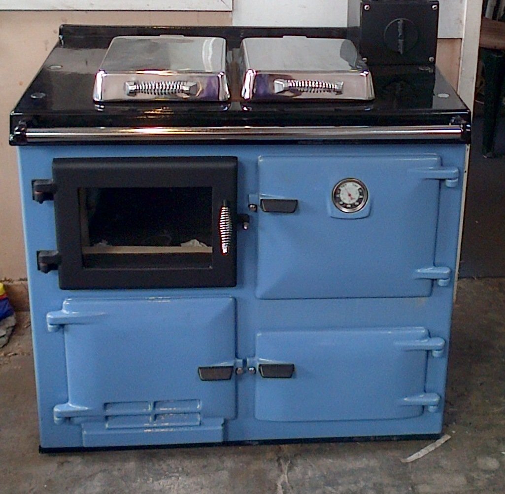 works cooker with small boiler